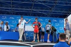 Giro di Tejay Van Garderen 2013 di California Fotografia Stock Libera da Diritti