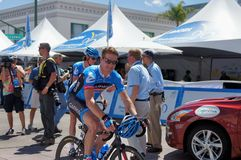 Giro di Tyler Farrar 2013 di California Fotografie Stock