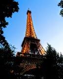 Giro Eiffel Parigi fotografie stock