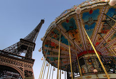 Giro Eiffel a Parigi Fotografia Stock