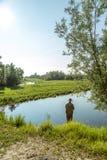 Giro en el río Fotografía de archivo libre de regalías