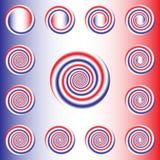 Giro espiral Foto de Stock