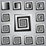 Giro espiral Imagens de Stock Royalty Free