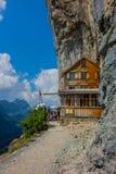 Giro esplorativo attraverso la bella regione montana di Appenzell, Svizzera, fotografie stock libere da diritti