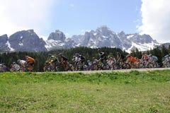 GIRO ITALIË Stock Fotografie