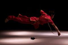 Giro italiano degli eroi 2010 di Kung Fu Fotografie Stock