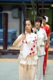 Giro italiano degli eroi 2010 di Kung Fu Immagini Stock