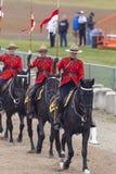 Giro musicale in Ancaster, Ontario di RCMP Fotografia Stock Libera da Diritti