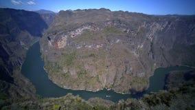 Giro nel Sumidero Canyonn stock footage