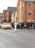 Giro olimpico 2012 del relè della torcia Immagini Stock Libere da Diritti