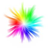Giro rapido del Rainbow royalty illustrazione gratis