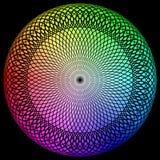 Giro rapido di spettro illustrazione vettoriale