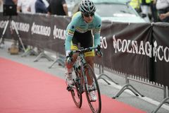Giro Rosa 2016, 27th wydanie Giro d ` Italia kobiecy Zdjęcie Royalty Free