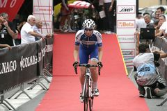 Giro Rosa 2016, 27th wydanie Giro d ` Italia kobiecy Zdjęcia Royalty Free