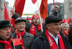 Giro russo Fotografia Stock Libera da Diritti