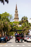 Giro storico del trasporto, Charleston, Sc Fotografia Stock