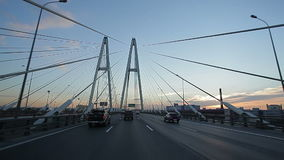Giro sul ponte vantoviy video d archivio