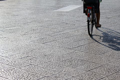 Giro sulla bici Fotografia Stock