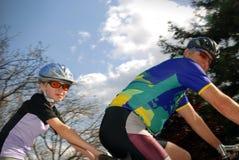 Giro in tandem Immagine Stock