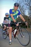 Giro in tandem Fotografie Stock