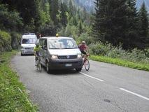 Giro Valle Aosta agosto 2011 Fotografia de Stock