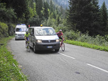 Giro Valle Aosta Augustus 2011 Stock Fotografie