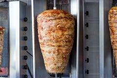 Girobussole - alimenti a rapida preparazione infilzati Fotografia Stock Libera da Diritti