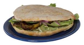 Girocompases en la placa (kebab) Fotografía de archivo libre de regalías