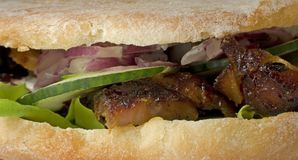 Girocompases (kebab) Fotos de archivo libres de regalías