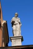 Girolamo Fracastoro Statue - Verona Italy Stock Photos
