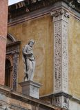 Girolamo Fracastoro in Verona in Italy Royalty Free Stock Photo