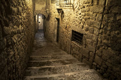 Girona犹太季度 库存照片