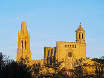 Girona, Ισπανία στοκ φωτογραφίες με δικαίωμα ελεύθερης χρήσης