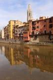 girona Ισπανία στοκ εικόνες