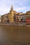 girona Ισπανία στοκ φωτογραφίες με δικαίωμα ελεύθερης χρήσης