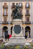 girona Ισπανία στοκ εικόνα με δικαίωμα ελεύθερης χρήσης