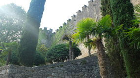 Girona, παλαιά πόλη Στοκ Εικόνες