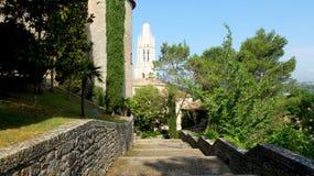 Girona, παλαιά πόλη Στοκ φωτογραφίες με δικαίωμα ελεύθερης χρήσης