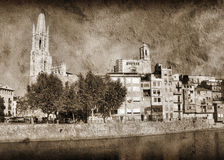 Girona Royalty Free Stock Images