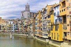 Girona. Medieval city, Catalonia, Spain Royalty Free Stock Photo