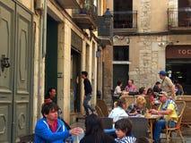 Girona Arkivbild