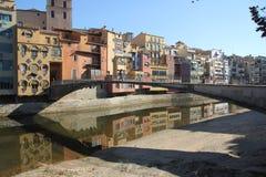 Girona Fotografia de Stock