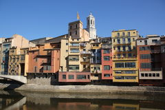Girona Fotografie Stock