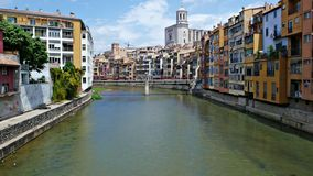 Girona Fotografía de archivo