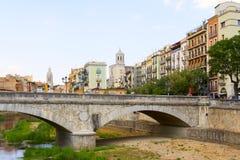 Girona royaltyfri fotografi