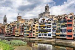 Girona Catalonia Zdjęcia Stock