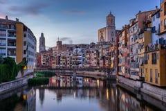 Girona Catalonia Stock Photo