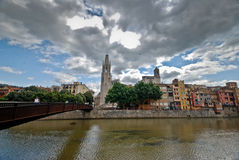 Girona, Catalonia, Spain Stock Photography