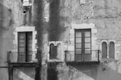 Girona Catalunya, Spain, gothic buildings Stock Photography