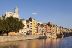 Girona Cathedral Stock Photography